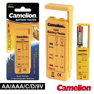 Testador De Baterias Universal AA/AAA/C/D/9V CAMELION - (BT-0503)