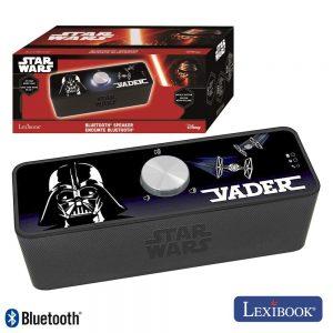 Coluna Bluetooth Portátil 2x3W Aux/Bat Star Wars Lexibook - (BT500SW)