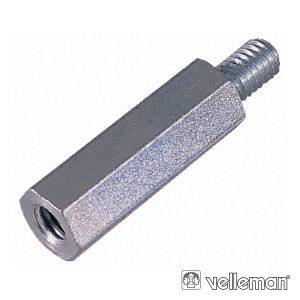 Separador Hexagonal De Metal 30mm M3 Macho/Fêmea - (BUS3FM30)