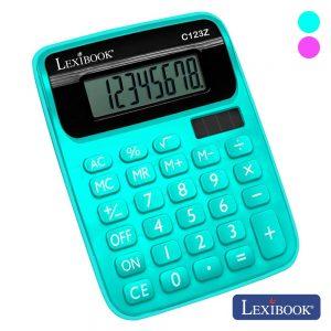 Máquina Calculadora 8 Dígitos Solar Lexibook - (C123Z)