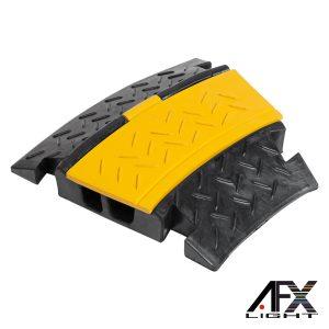 Rampa Proteção 2 Vias P/ Cabos Máx 10 Ton 30º AFXLIGHT - (CABLE-RAMP30)