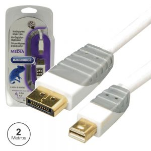 Cabo Mini Displayport Macho / Displayport Macho 2m - (BBM37400W20)