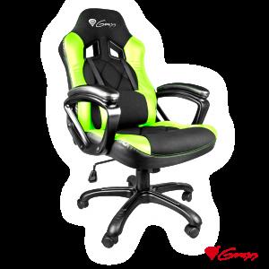 Cadeira Gaming Nitro 330 Preto/Verde GENESIS - (NFG-0906)