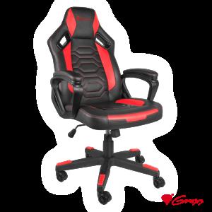 Cadeira Gaming Nitro 370 Preto/Vermelho GENESIS - (NFG-1364)