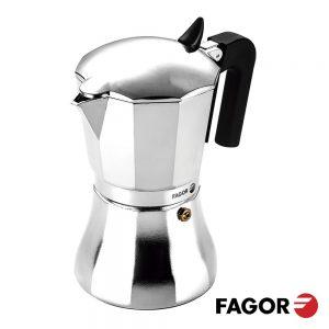 Cafeteira De Alumínio De Indução 6 Chávenas FAGOR - (CUPY-6T)