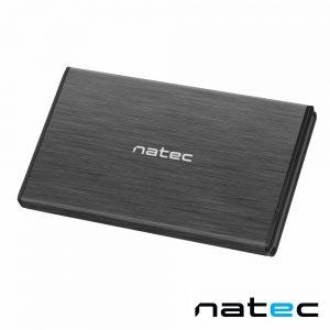 "Caixa Alumínio USB 3.0 P/ Discos HDD 2.5"" SATA III NATEC - (NKZ-1568)"