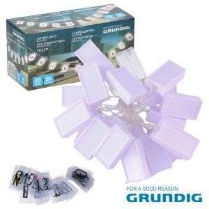 Caixa De Luz 20 LEDS 85 Letras 230cm Grundig - (12755)