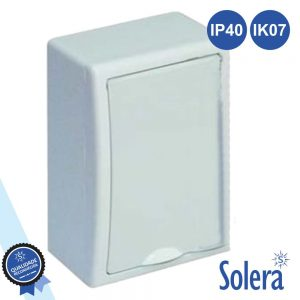 Caixa Distribuição Elétrica 4 Elementos IP40 IK07 SOLERA - (SLR-8684)