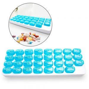 Caixa Organizadora Mensal Para Comprimidos - (INVGA183)