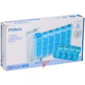 Caixa Organizadora Semanal Para Comprimidos - (LAR968)