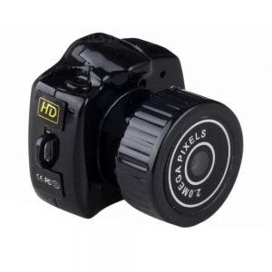 Câmara Vigilância Miniatura C/ Áudio Bateria 480p - (MINICAMVIDEO09)
