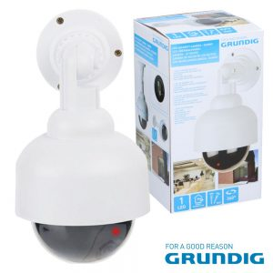 Câmara Dome Falsa C/ LED Ir Grundig - (07961)
