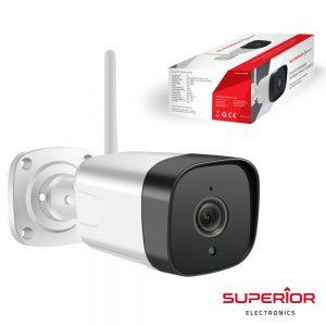 Câmara exterior WIFI IP FULL HD c/ visão noturna IP66 - (ICM002)