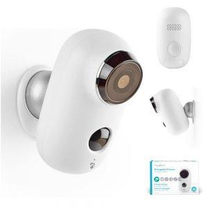 Câmara IP C/ Sensor de Movimientos PIR 6000mAh - (WIFICBO10WT)