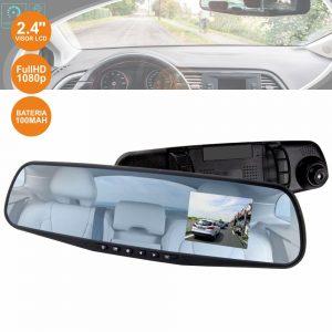 Câmara Vigilância FHD 1080p Espelho Retrovisor Automóvel 2.4 - (XDR103)