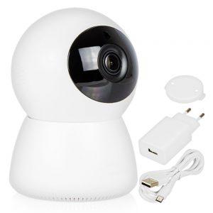 Câmara Vigilância Ip 1080p S/ Fios Wi-Fi Rotativa - (CVCIPH261)