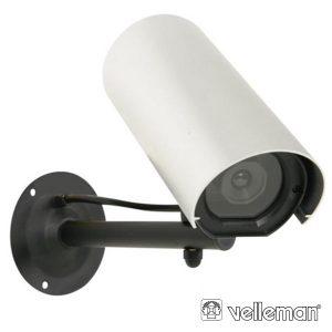 Câmara Vigilância Falsa C/ LED Resistente A Intemperie - (CAMD5)