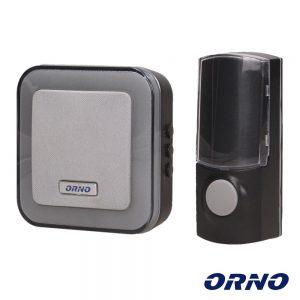 Campainha C/ 1 Receptor 230V 100m ORNO - (OR-DB-AT-137)