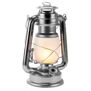 Candeeiro Decorativo LED C/ Efeito de Chama 25cm - (GRD648)