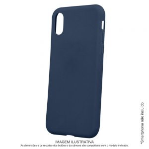 Capa TPU Anti-choque Marinho P/ iPhone 11 Pro Max - (CASEIPHONE11PMX-MR)