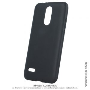 Capa TPU Anti-choque Preta P/ iPhone XS Max - (CASEIPHONEXSMX-BK)