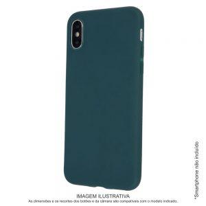 Capa TPU Anti-choque Verde Floresta P/ iPhone XS Max - (CASEIPHONEXSMX-FG)
