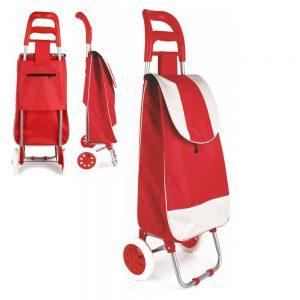 Carrinho P/ Transporte de Compras Vermelho - (INVGA036)