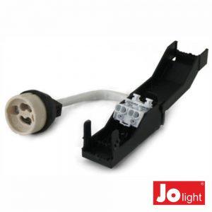 Casquilho P/ Lâmpada Gz10/GU10 C/Caixa E Bornes Jolight - (23-9-104/5)