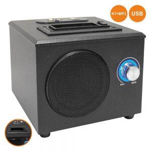Conversor Áudio Codificado Cassete-Mp3 C/ USB E Coluna - (CCA10)