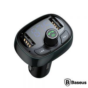 Transmissor FM Bluetooth 2USB/Microsd F. Isqueiro Preto - (CCALL-TM01)