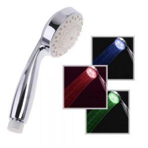 Chuveiro De Mão C/ 7 Cores LED - (CHUV-01)