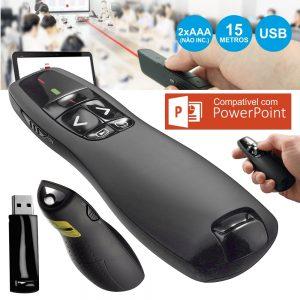 Caneta Laser Controlo Remoto Apresentador S/ Fios - (CLAP02)