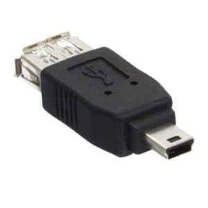 Ficha Adaptadora USB-A Fêmea / Mini USB Macho - (CMP-USBADAP9)