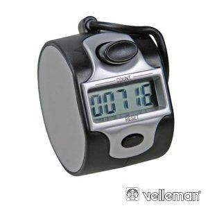 Contador De Visitas Digital 5 Dígitos VELLEMAN - (CNT2)