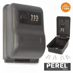 Cofre P/ Chaves 100x146x58mm Perel - (BG80055)