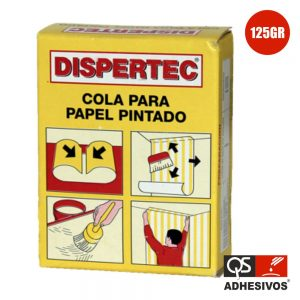 Cola P/ Papel Parede 125gr Qs - (DISPERTEC)