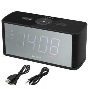 Coluna Bluetooth C/ Rádio FM e Relógio Digital - (BT410)