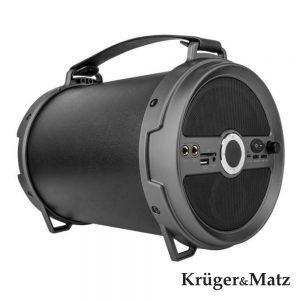 Coluna Bluetooth Portátil 15W+3W USB/SD/AUX/FM KRUGER MATZ - (KM0529XXL)