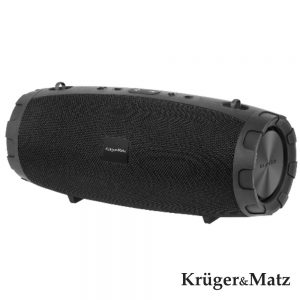 Coluna Bluetooth Portátil 2x6W+18W USB/SD/Aux KRUGER MATZ - (KM0552)