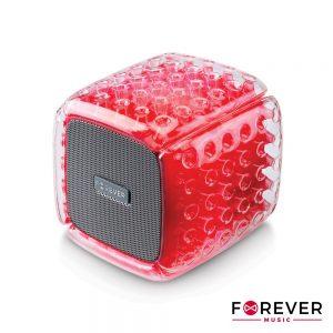 Coluna Bluetooth Portátil 5W Vermelha FOREVER - (BS-700RD)