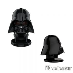 Coluna Bluetooth - Darth Vader - c/ NFC - VELLEMAN - (BTSP-VADER)