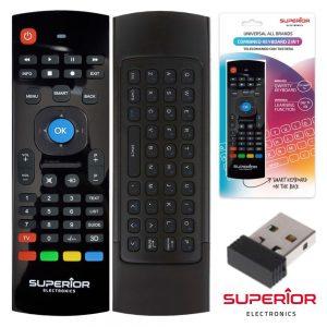 Comando TV Universal Reversível C/ Teclado E Rato - (SUP-CRUK)