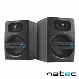 Conjunto 2 Colunas PC 2.0 6W Jack/USB NATEC - (NGL-1641)