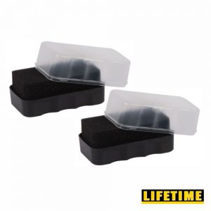 Conjunto 2 Esponjas P/ Polir Sapatos - (CONJESP01)