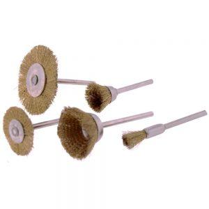 Conjunto 5 Escovas Arame de Aço - (TOOL938)