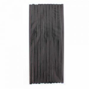 Conjunto De 12 Barras De Cola Quente 11mm 30cm Preto PROK - (PKGS1130BK)