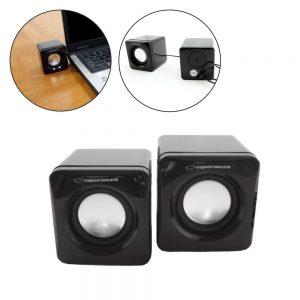Conjunto 2 Colunas Pc 2.0 2x3W USB - (EP111)