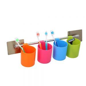 Conjunto De Copos Porta Escovas de Dentes - (ALP587)