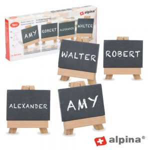 Conjunto De Quadros De Escrever C/ Giz 9x Alpina - (ALP345)