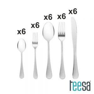Conjunto de Talheres 30x TEESA - (TSA0135)